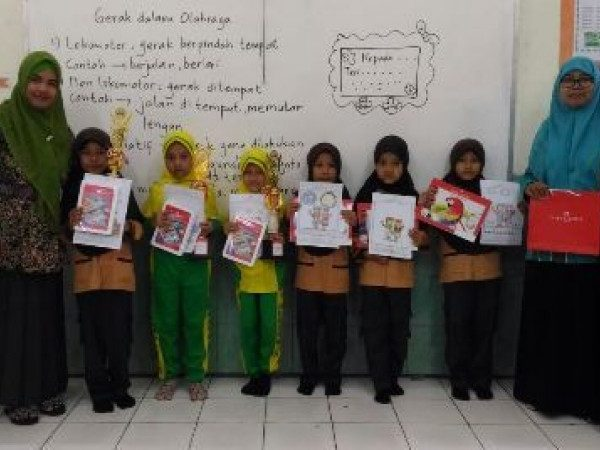 MIN DEMANGAN KEDATANGAN TIM SCHOOL DRAWING COMPETITION BY FABER CASTELL