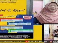 Berprestasi Di Tengah Pandemi Covid-19, Siswi MIN 1 Kota Madiun Raih Juara 1 EESC 2020