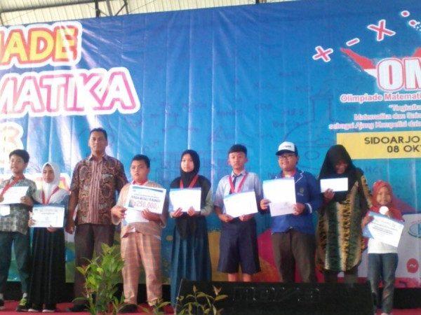 SISWA MIN 1 SABET MEDALI PERUNGGU DALAM OLIMPIADE MATEMATIKA DAN SAINS SE INDONESIA