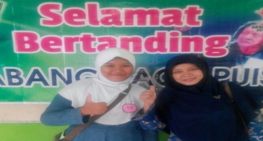 MEMBANGGAKAN, MIN DEMANGAN JAWARA AKSIOMA CABANG PIDATO BAHASA INDONESIA