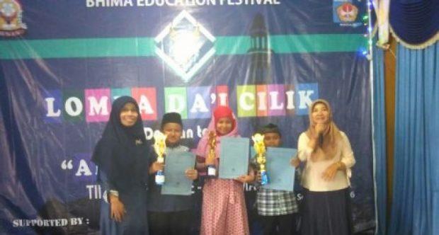 MIN Demangan Madiun Borong Juara 1, 2 dan 3 dalam lomba Dai Cilik