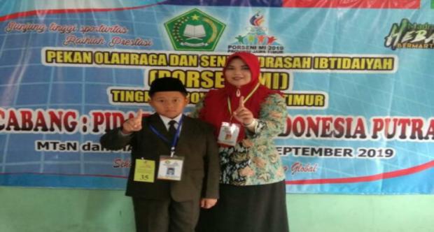 WILZA GENGGAM EMAS DIAJANG PORSENI CABANG PIDATO BAHASA INDONESIA TINGKAT PROVINSI TAHUN 2019