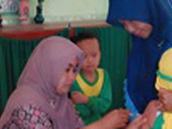 Bulan Imunisasi Anak Sekolah (BIAS) MIN Demangan Madiun