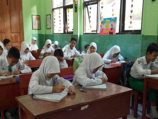 Pelaksanaan Try Out Ujian Sekolah Kecamatan Tahap Pertama MIN Demangan