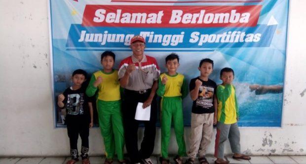 Cabor Renang Borong Medali di PORKOT 2019