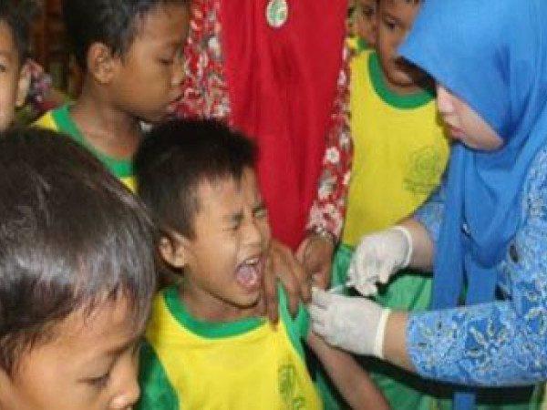 Bulan Imunisasi Anak Sekolah (BIAS) Tahun 2015 untuk Siswa Kelas I