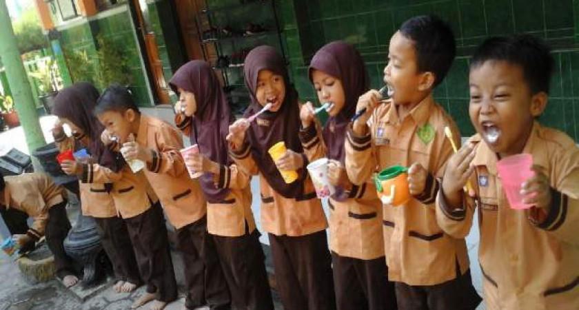 Hari Gosok Gigi se-Indonesia