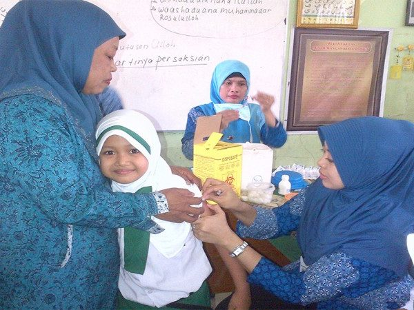 Kegiatan Skrining dan Imunisasi Campak II