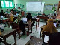 Lancar dan Sukses Pelaksanaan Ujian Madrasah Kelas VI MIN 1 Kota Madiun