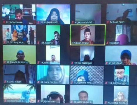 Rapat Dinas MIN 1 Kota Madiun di Tengah Pemberlakuan PPKM Darurat Jawa-Bali
